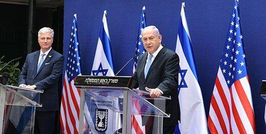 رایزنی مشاور ترامپ با نتانیاهو درباره ایران