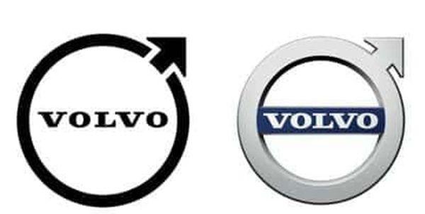 خودروسازی ولوو لوگوی خود را تغییر داد