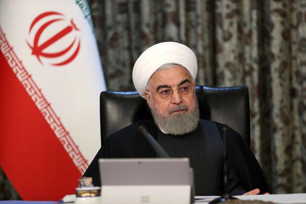 روحانی: جمهوری اسلامی از حکومت امیرالمومنین فاصله زیادی دارد
