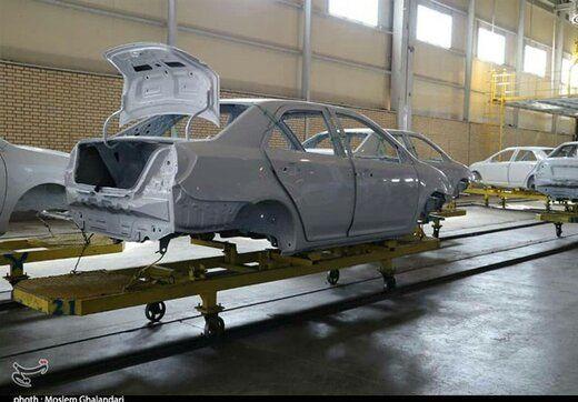 رکورد بیسابقه ایران خودرو در تولید روزانه
