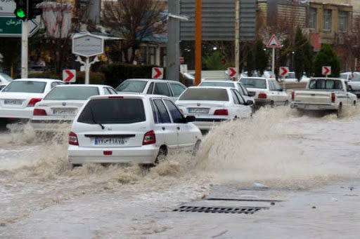 هشدار درباره آبگرفتگی معابر و بالا آمدن آب رودخانهها