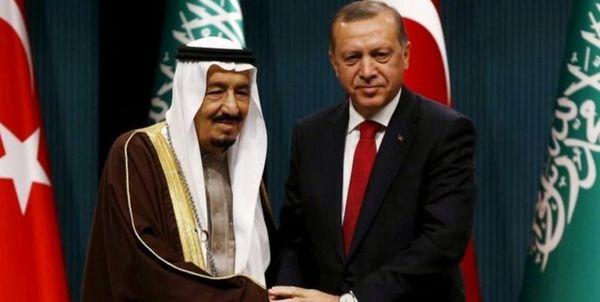 گفتوگوی تلفنی اردوغان و شاه سعودی
