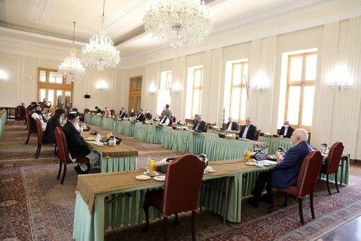 ظریف:ایران آماده تسهیل گفتگوهای بینالافغانی است