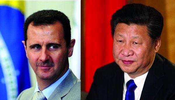 نامه رئیسجمهور چین به بشار اسد
