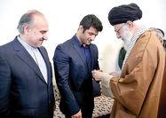 تجلیل مقام معظم رهبری از علیرضاکریمی