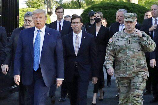 تشدید تنش بین کاخ سفید و پنتاگون