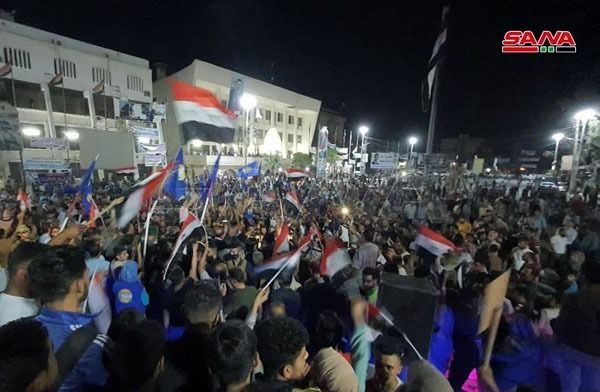 بشار اسد در انتخابات ریاست جمهوری پیروز شد/ جشن و شادی مردم سوریه + تصاویر