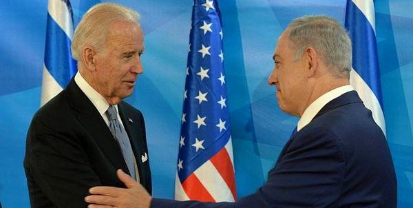 گفتگوی بایدن با نتانیاهو در خصوص آخرین تحولات منطقه