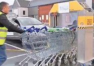 فناوری جدید شرکت انگلیسی برای ضدعفونی کردن چرخدستی فروشگاهها