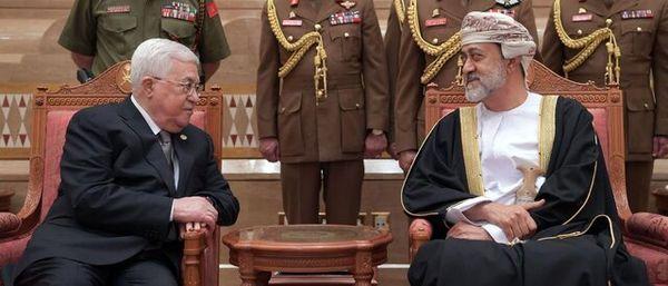 حمایت مجدد پادشاه عمان از تشکیل کشور مستقل فلسطین