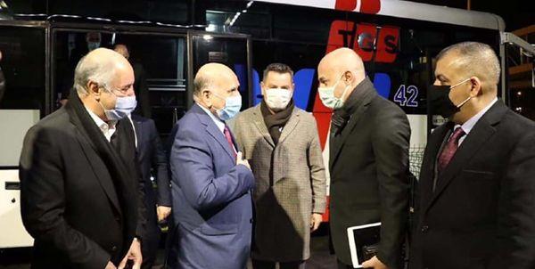 وزیر خارجه عراق وارد آنکارا شد