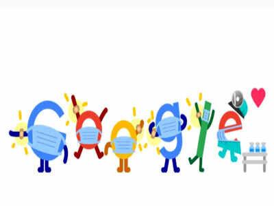گوگل لوگوی خود را به کرونا اختصاص داد