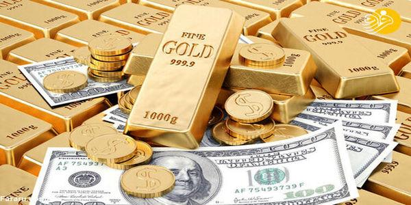 موشن گرافیکی از سیر قیمت دلار و سکه