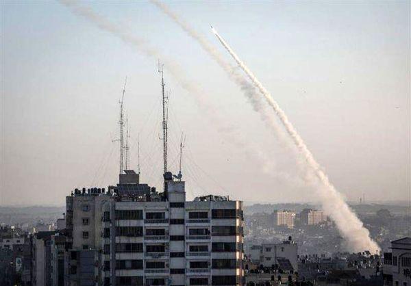 حمله موشکی و راکتی «قسام» به ۶ پایگاه هوایی اسرائیل