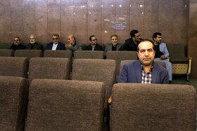 حسین انتظامی در مراسم ختم دختر عباس سلیمی نمین