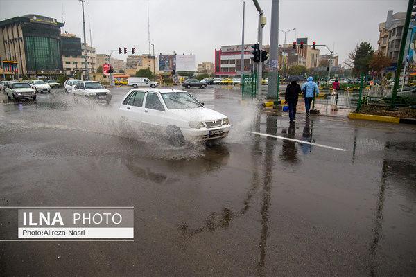 پیش بینی بارش رگباری باران در 9 استان کشور