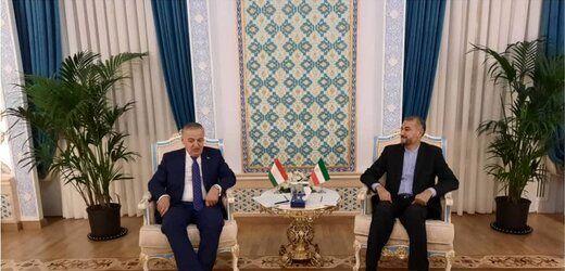 امیرعبداللهیان با وزیرخارجه تاجیکستان دیدار کرد