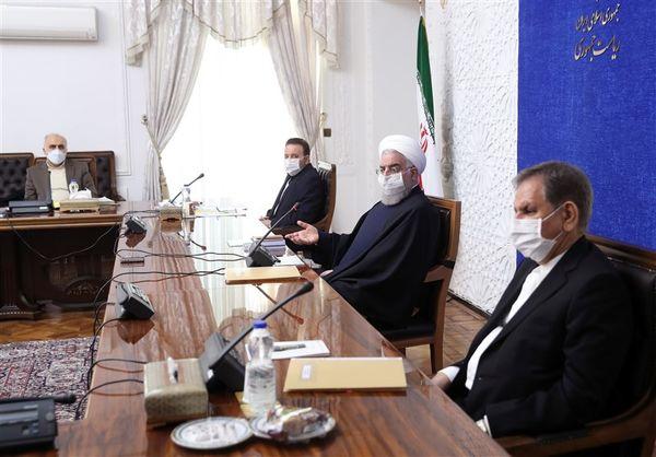 نشست اقتصادی دولت با حضور روحانی برگزار شد