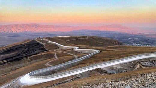 ترکیه مرز خود با ایران را دیوارکشی می کند