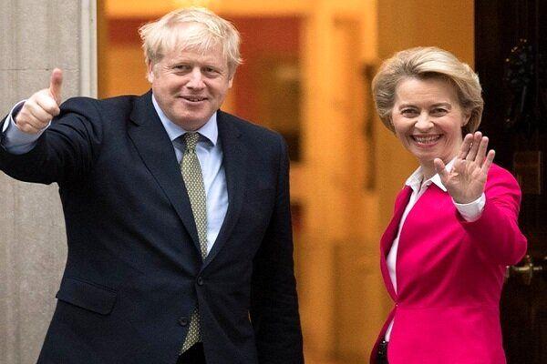 آغاز گفتگوی تلفنی جانسون و رئیس کمیسیون اروپا