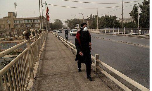 هشدار وقوع طوفان خاک در ۵ استان کشور