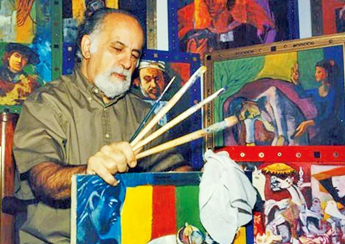 نمایش آثار هانیبال الخاص در گالری ویستا