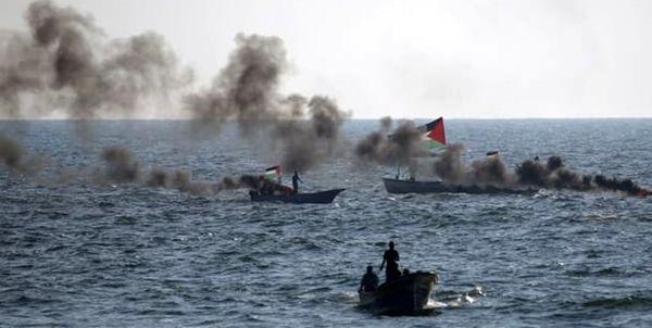 ارتش رژیم صهیونیستی مدعی حمله به نیروی دریایی حماس شد
