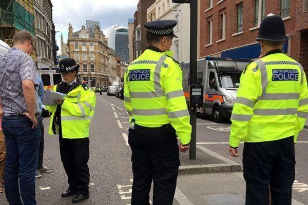 وقوع یک حادثه امنیتی در لندن