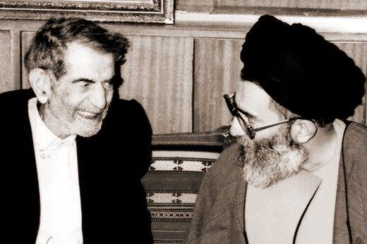 تصویری ویژه از دیدار صمیمانه رهبر انقلاب با شهریار