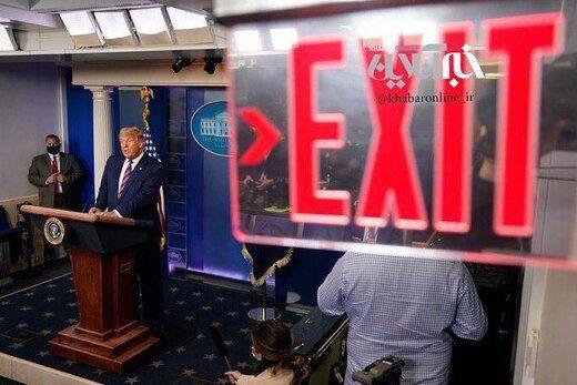 واکنشها به قطع پخش کنفرانس خبری دونالد ترامپ