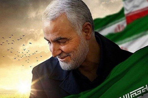 اهدای نشان ویژه ارتش به شهید سردار سلیمانی
