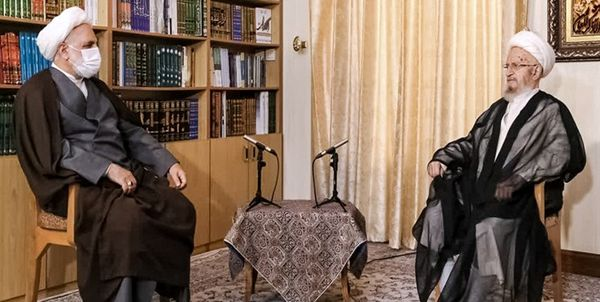 دیدار رئیس قوه قضاییه با آیت الله مکارم شیرازی