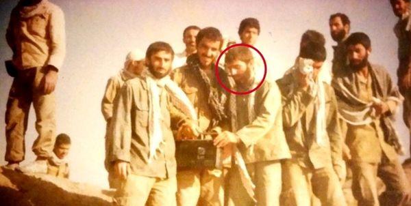 تصویری از شهید فخریزاده در دوران دفاع مقدس