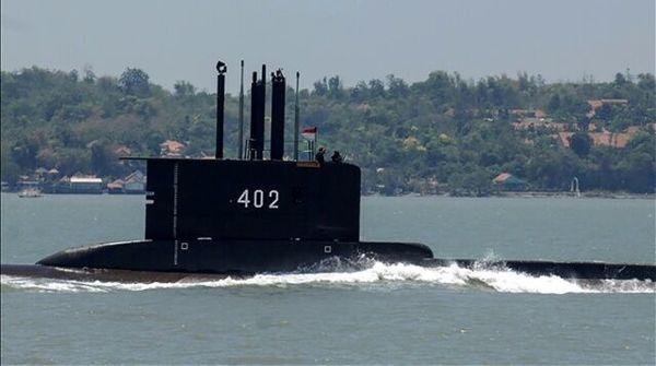 تایید غرق شدن زیردریایی نیروی دریایی اندونزی