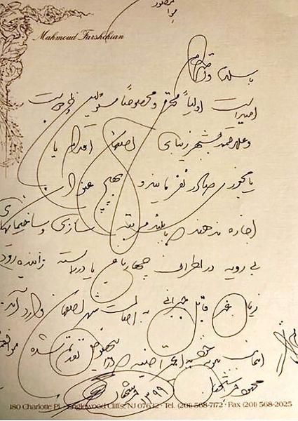 اعتراض جالب محمود فرشچیان به تخریبها  در اصفهان
