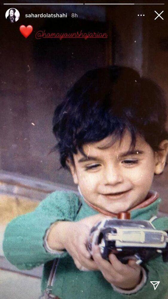 عکس | تصویری که سحر دولتشاهی برای تولد همایون شجریان منتشر کرد