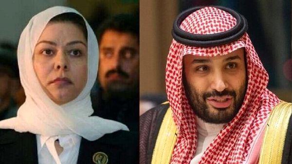 رغد صدام دیدارهایش با بن سلمان را تکذیب کرد