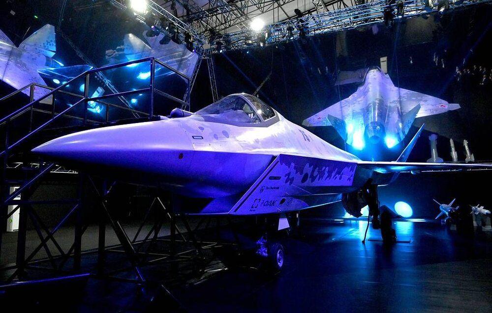 رونمایی روسیه از نسل پنجمی جنگندههای سوخو/عکس