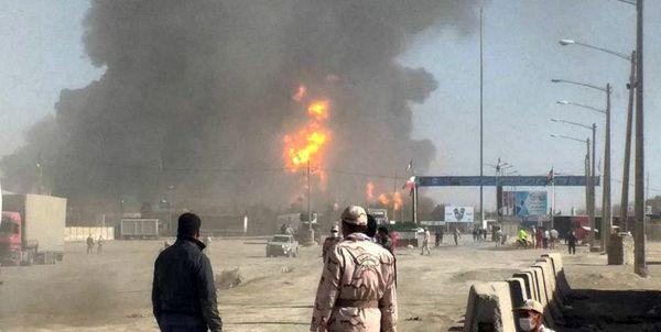 جزئیات تازه از حادثه آتشسوزی در گمرک مرزی دوغارون