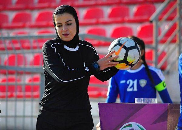 محرومیت عجیب داور زن فوتبال!