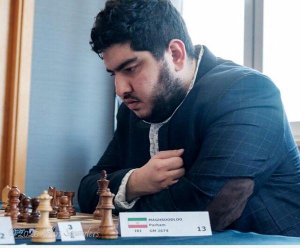 پرهام مقصودلو قهرمان شطرنج ایران شد