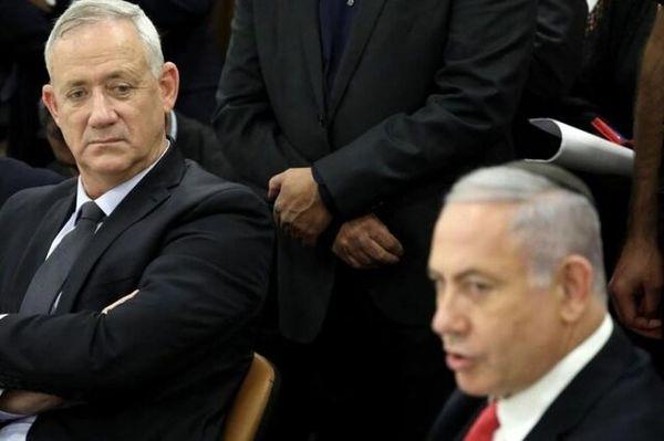 اختلاف نتانیاهو و گانتس بالا گرفت