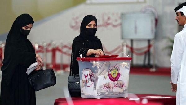 مشارکت 65 درصدی قطریها در نخستین انتخابات مجلس