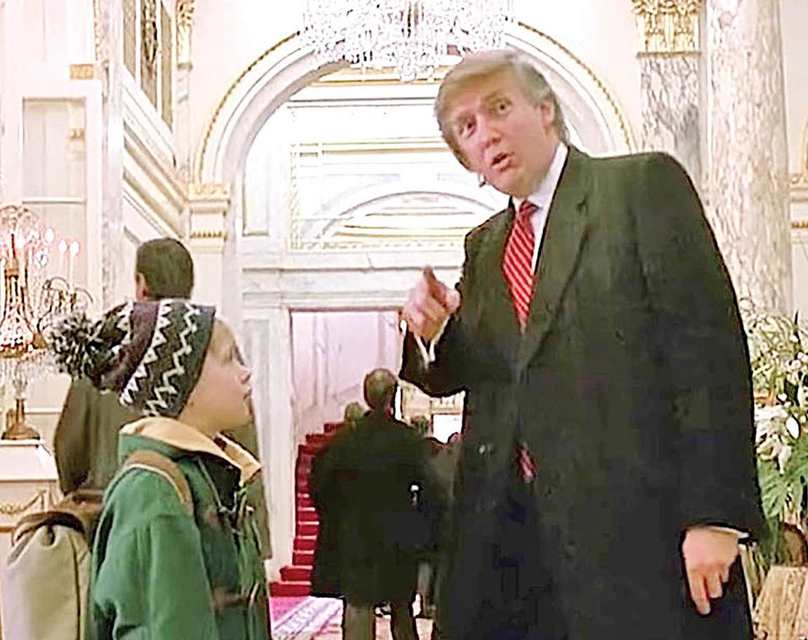 پیشنهاد حذف ترامپ از فیلم «تنها در خانه»
