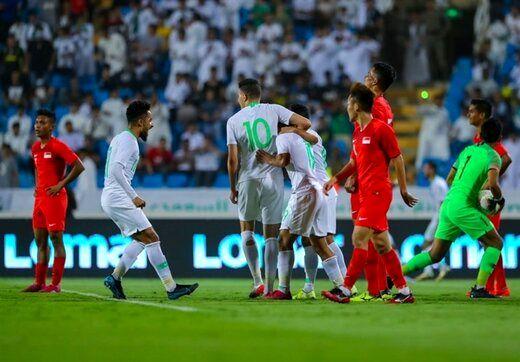 میزبان عربستان از رقابت های انتخابی جام جهانی