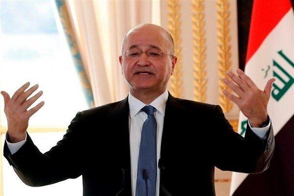 موضع برهم صالح درباره انتخابات عراق