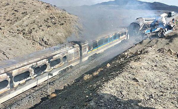 انفجار قطار مسیر نیشابور