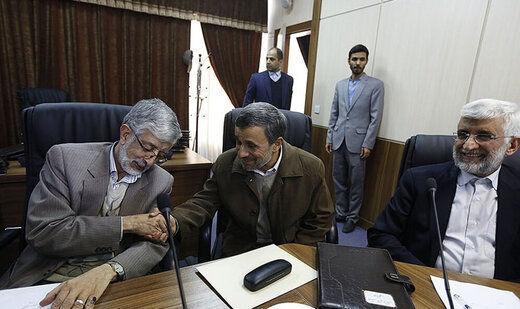 حدادعادل آب پاکی را روی دست احمدینژاد ریخت