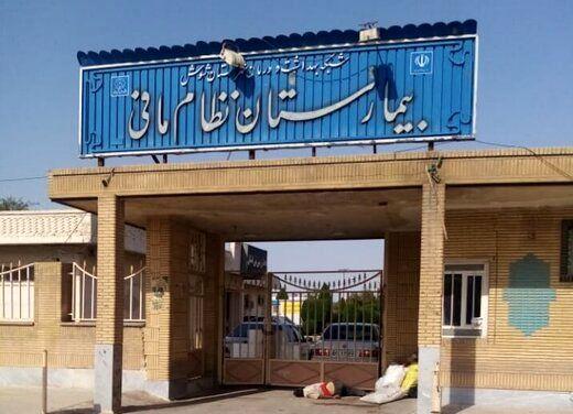 ماجرای رهاشدن یک جنازه مقابل بیمارستان در خوزستان/ عکس