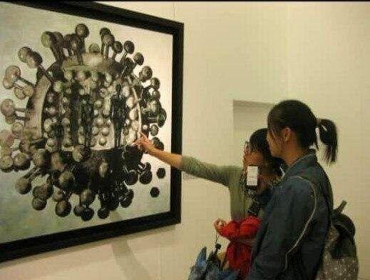 هنرمندی که ۸ سال پیش کرونا را نقاشی کرد!